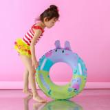 Toddler Kids Pool Floats Inflatable Swimming Rings Print Peppa Pig