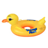 Toddler Kids Pool Floats Inflated Swimming Rings Duck Sitting Swimming Circle