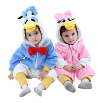 Baby Donald Duck Onesie Kigurumi Pajamas Kids Animal Costumes for Unisex Baby