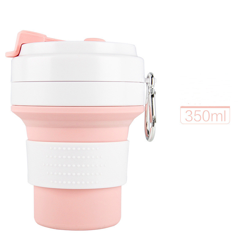 Collapsible Water Bottle Free 350-550ML Food-Grade Silicone Portable Water Bottles