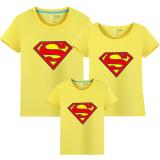 Matching Family Prints Superman Famliy T-shirts