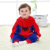 Baby Red Spider Man Onesie Kigurumi Pajamas Kids Animal Costumes for Unisex Baby
