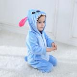 Baby Blue Stitch Onesie Kigurumi Pajamas Kids Animal Costumes for Unisex Baby