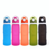 Collapsible Water Bottle Free 750ML Food-Grade Silicone Portable Water Bottles