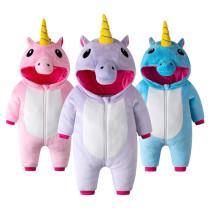 Baby Unicon Onesie Kigurumi Pajamas Kids Animal Costumes for Unisex Baby