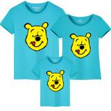 Matching Family Prints Winnie the Pooh Famliy T-shirts