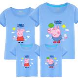 Matching Family Prints Peppa Pig Family T-shirts