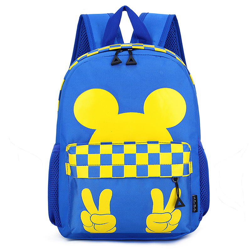 Kindergarten Primary School Backpack Mickey Bag Bookbag For Toddlers Kids