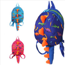 Kindergarten School Backpack 3D Dinosaur Bag Bookbag For Toddlers