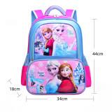 Primary School Backpack Bag Cartoon Frozen Marvel Lightweight Waterproof Bookbag