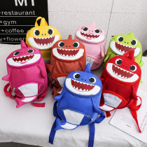 3D Cute Shark Backpack For Kindergarten Toddler Kids