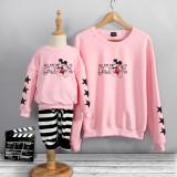 Matching Family Prints Mickey Famliy Sweatshirts Top