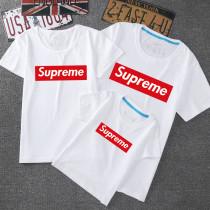 Matching Family Prints Slogan Superme T-shirts