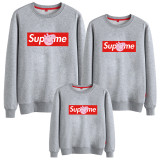 Matching Family Prints Slogan Peppa Pig Famliy Sweatshirts Top