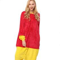 Yellow Winnie the Pooh Onesie Kigurumi Pajamas Cosplay Costume for Unisex Adult