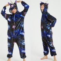 Universe Starry Stars Sky Onesie Kigurumi Pajamas Cosplay Costume for Unisex Adult