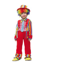 Clown Performance Costume Suit Sets With Hat