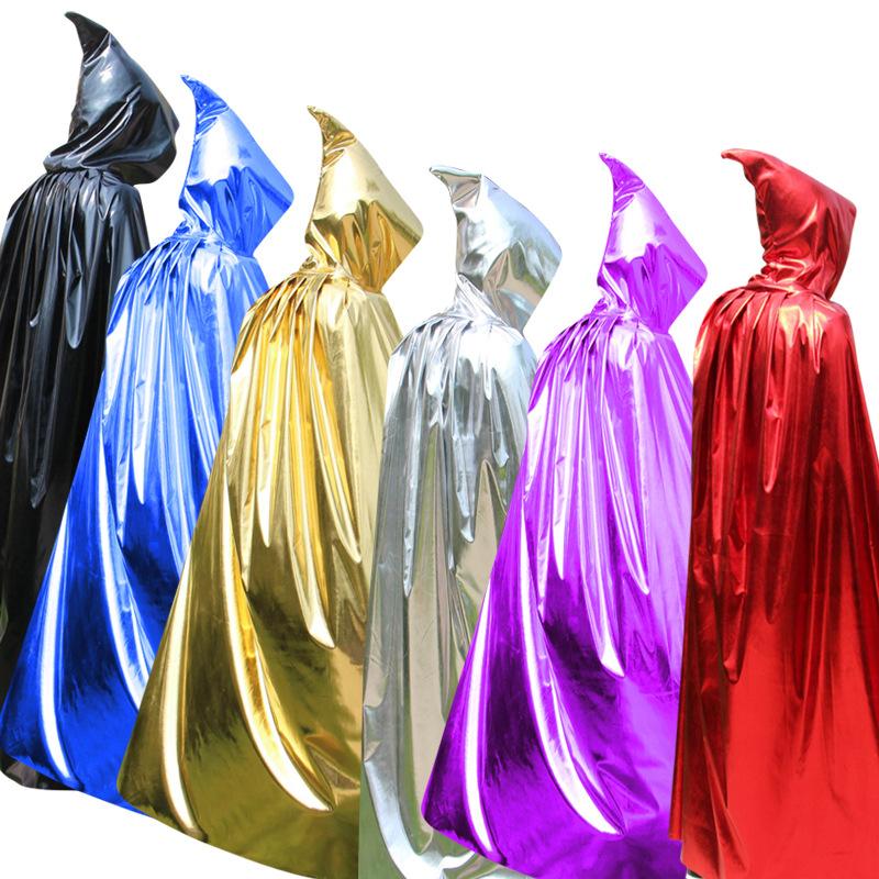 Halloween Vampire Costume Hooded Light Cloak
