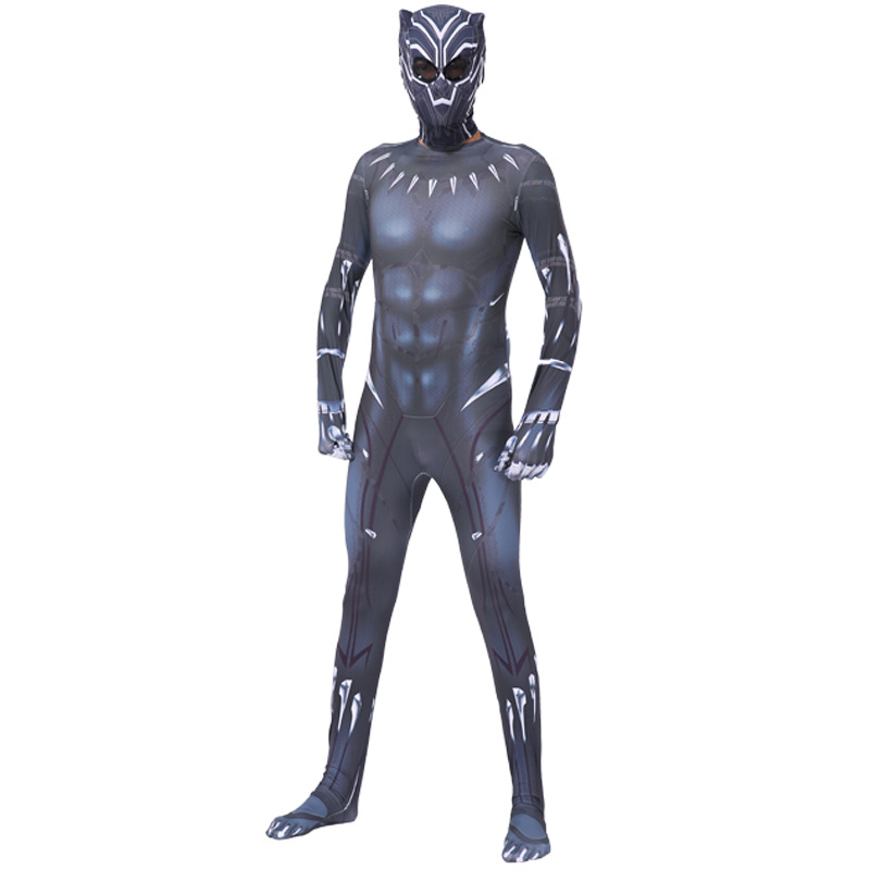 Tights Black Panther Jumpsuit Halloween Performance Costume Cosplay Suit