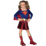 Super Girl Dress Halloween Performance Costume Cosplay Suit