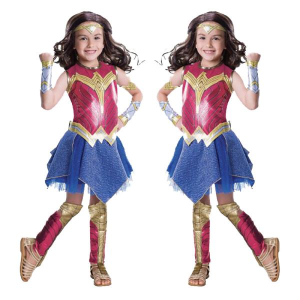 Halloween Costume Wonder Woman Bodysuit With Accessories