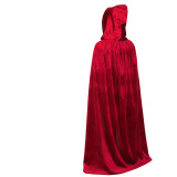 Halloween Cosplay Performance Costume Velvet Cloak