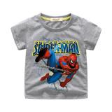 Boys Slogan Spider Man Cotton T-shirt