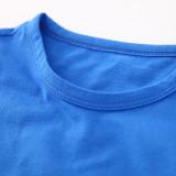 Boy Print Iron Man Cotton T-shirt