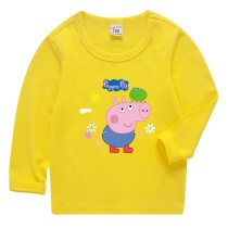 Boys Print Peppa Pig George Cotton T-shirt