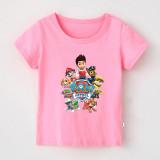 Boys Print Cartoon PAW Patrol T-shirt