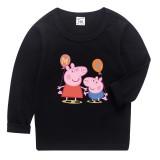 Boys Print Peppa Pig Cotton T-shirt