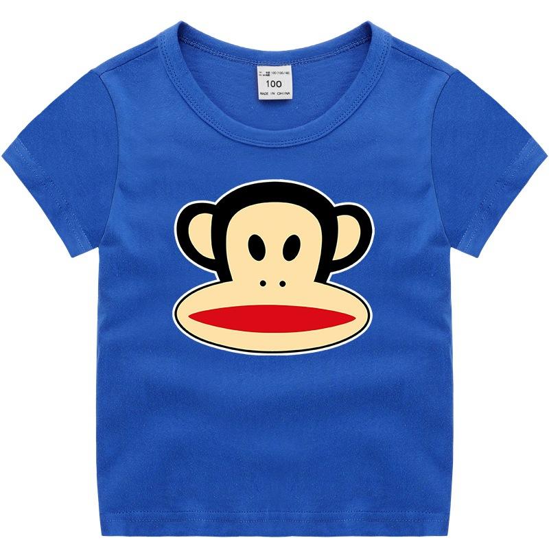 Boys Print Paul Frank Monkey Cotton T-shirt