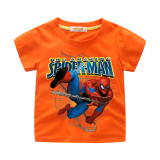 Boys Slogan Spider Man Cotton T-shirt