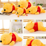Yellow Winnie the Pooh Soft Stuffed Plush Animal Doll for Kids Gift