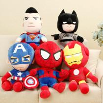 Marvel Spider Captain America Soft Stuffed Plush Animal Doll for Kids Gift