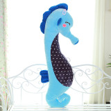 A Couple Sea Horses Soft Stuffed Plush Animal Doll for Kids Gift
