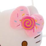 Hello Kitty Icecream Bowknot Soft Stuffed Plush Animal Doll Pillow for Kids Gift