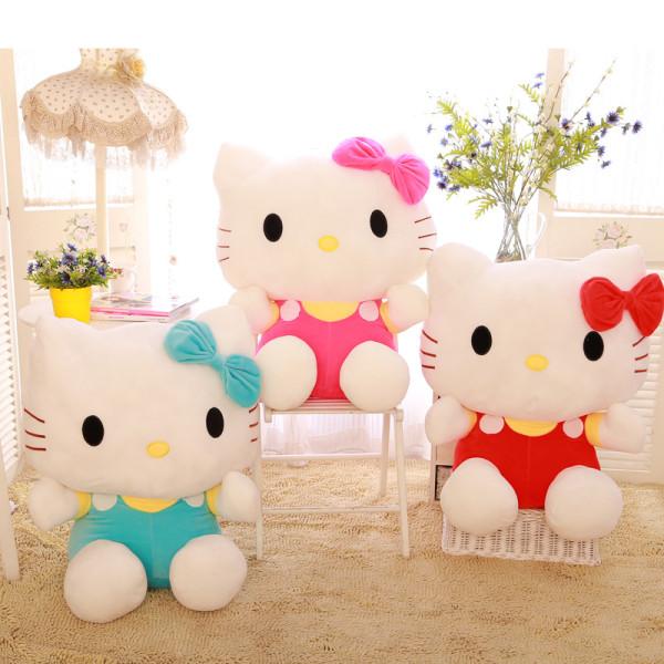 Hello Kitty Cat Soft Stuffed Plush Animal Doll for Kids Gift