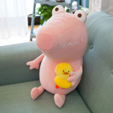 Crocodile With Duck Soft Stuffed Plush Animal Doll for Kids Gift