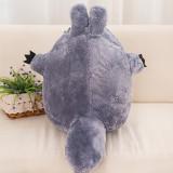 Grey Totoro Soft Stuffed Plush Animal Doll for Kids Gift
