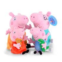 Peppa Pig Soft Stuffed Plush Animal Doll for Kids Gift