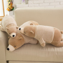 White Bear Soft Stuffed Plush Animal Doll Pillow for Kids Gift