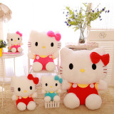 Hello Kitty Cat Soft Stuffed Plush Animal Doll for Kids Gift