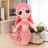 Mermaid Soft Stuffed Plush Animal Doll for Kids Gift