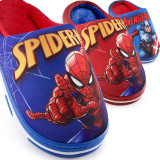 Toddlers Kids Spider Man Warm Winter Home House Slippers