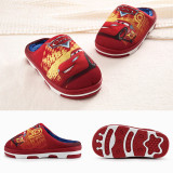 Toddlers Kids Racing Cars Warm Winter Home House Slippers