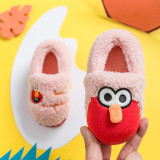 Toddlers Kids Sesame Street ELMO Flannel Warm Winter Home House Slippers Shoes