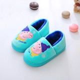 Toddlers Kids Christmas Peppa Pig George Warm Winter Home House Slippers Shoes