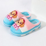 Toddlers Kids PAW Patrol Flannel Warm Winter Home House Slippers