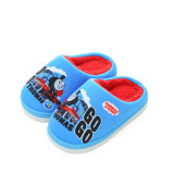 Toddlers Kids Thomas Train Warm Winter Home House Slippers